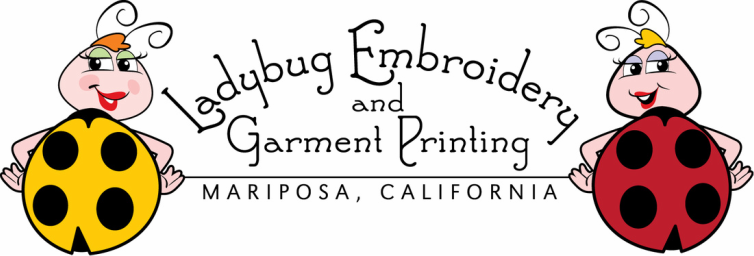 Ladybug Embroidery And Garment Printing